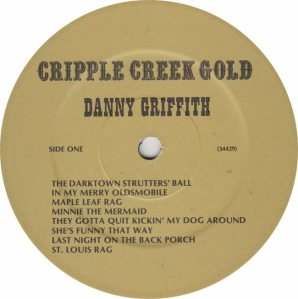 GRIFFITH DANNY - JACKSON SOUND GOLD RA
