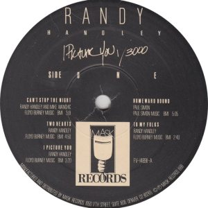 HANDLEY RANDY - MASK 14891 R
