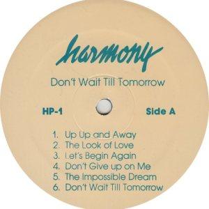HARMONY - HARM 1