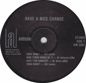 HAVE A NICE CHANGE - AUDICOM 3201 - RBA (1)