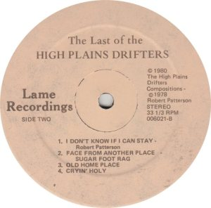HIGH PLAINS DRIFTERS - LAME 6021_0001