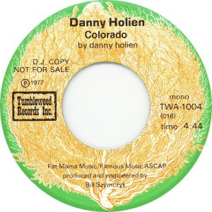 HOLIEN DANNY - TUMBLEWEED 1004 - A