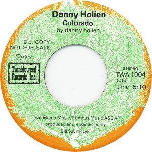 HOLIEN DANNY - TUMBLEWEED 1004 - B