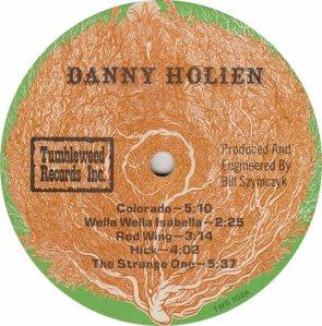 HOLIEN DANNY - TUMBLEWEED 102 - RA