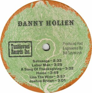 HOLIEN DANNY - TUMBLEWEED 102 - RB