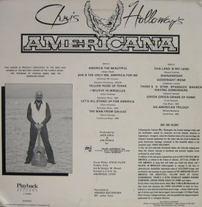 HOLLOWAY CHRIS - AMERICANA (2)