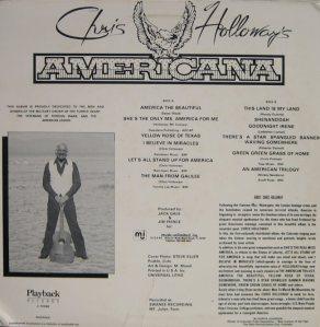 HOLLOWAY CHRIS - AMERICANA (2)