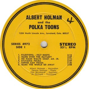 HOLMAN ALBERT - AH 4972