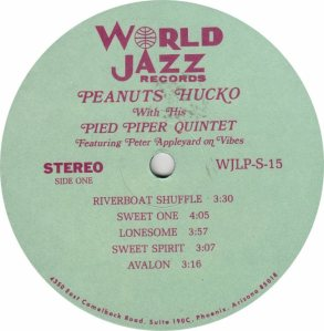 HUCKO PEANUTS - WORLD JAZZ 15 - RA