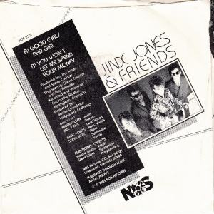 JINX JONES & FRIENDS - NOS 8501 B