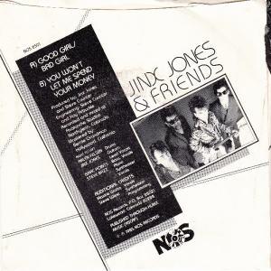 JINX JONES & FRIENDS - NOS 8501 B