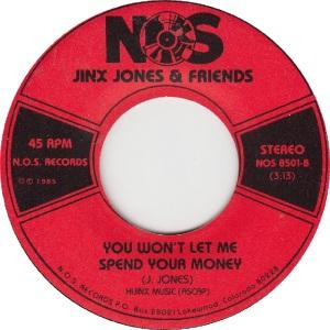 JINX JONES & FRIENDS - NOS 8501 D