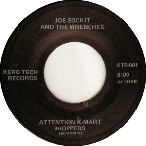 JOE SOCKIT & WRENCHES - XERO 1 C