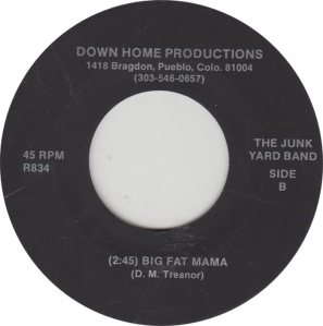 JUNK YARD BAND - DOWN HOME 834_0001