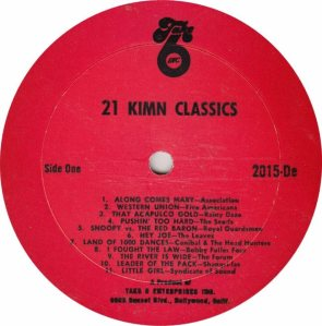 KIMN 21 CLASSICS RA