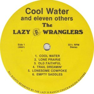 LAZY B WRANGLERS - LB 36861 R