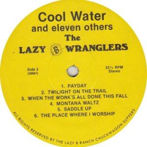 LAZY B WRANGLERS - LB 36861 R_0001