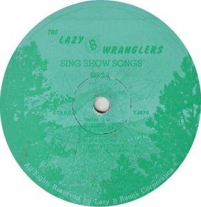 LAZY B WRANGLERS - LB 476 A