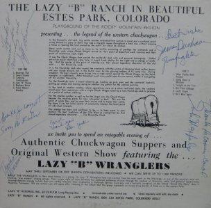 LAZY B WRANGLERS - LB 5547 M (4)