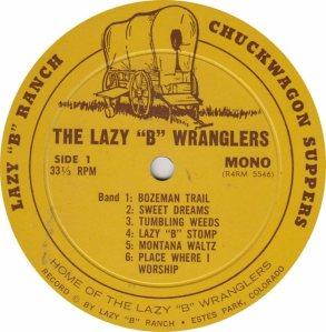 LAZY B WRANGLERS - LB 5547 M (5)