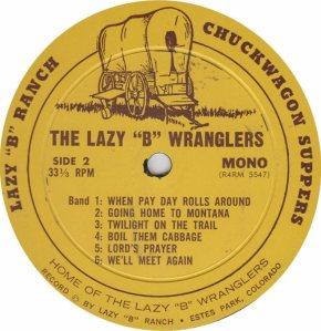 LAZY B WRANGLERS - LB 5547 M (6)