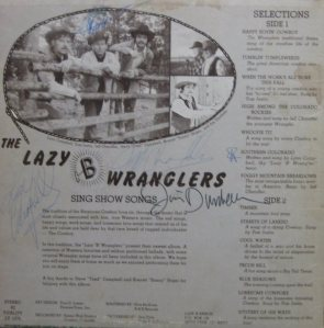 LAZY B WRANGLERS - SING SHOW SONGS (2)
