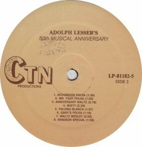 LESSER ADOLPH - CTN 81182 - RA