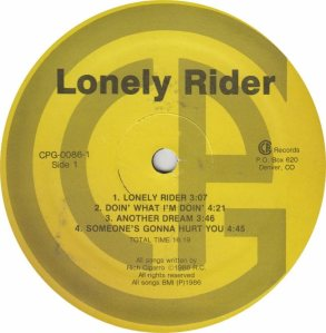 LONELY RIDER - CR 86 - AM (4)