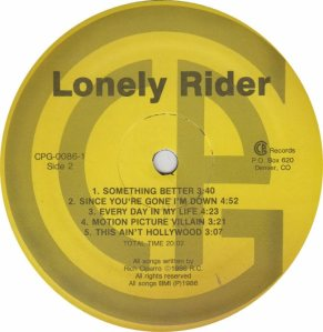 LONELY RIDER - CR 86 - AM (5)