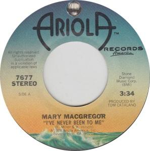 MACGREGOR MARY - ARIOLA 7677 A