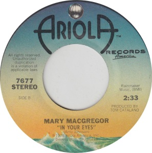 MACGREGOR MARY - ARIOLA 7677 B