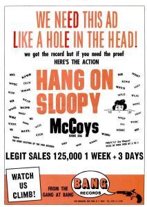 McCoys - 08-65 - Hang On Sloopy