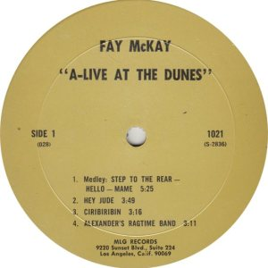 MCKAY FAY - MLG 1021 R