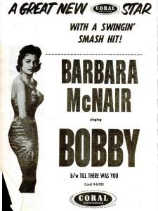 McNair, Barbara - 11-57 - Bobby