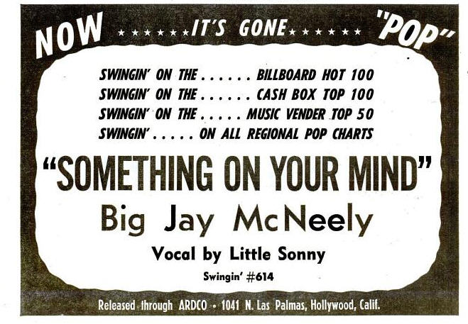 McNeely, Big Jay - 06-59 - Something On Your Mind