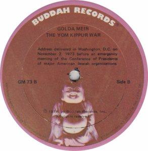 MEIR GOLDA - BUDDAH 73 B
