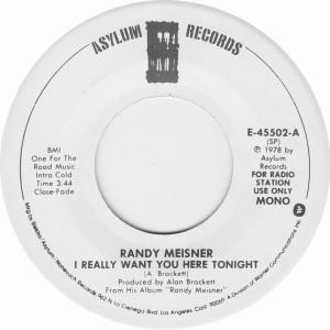 MEISNER RANDY - ASYLUM 45502 DJ A