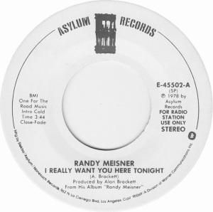 MEISNER RANDY - ASYLUM 45502 DJ B