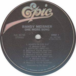MEISNER RANDY - EPCI 36748 RA