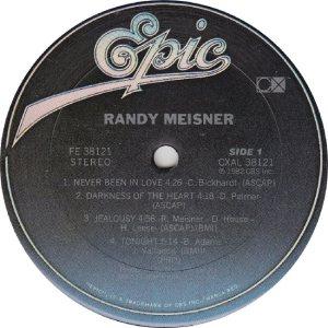MEISNER RANDY - EPIC 38121 - RA