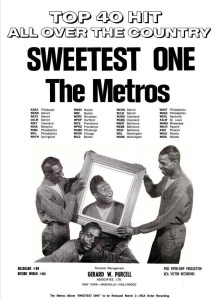 Metros - 01-67 - Sweetest One