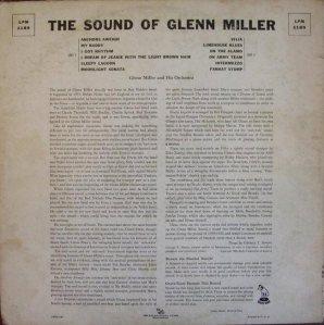 MILLER G LP 1189 1956 B