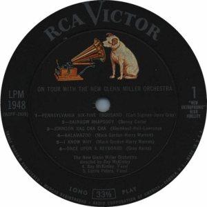 MILLER G LP 1948 - 1959 3