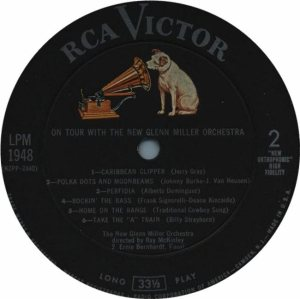 MILLER G LP 1948 - 1959 4