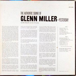 MILLER G LP 33-90 1960 2