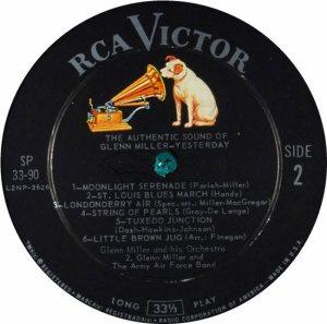 MILLER G LP 33-90 1960 4