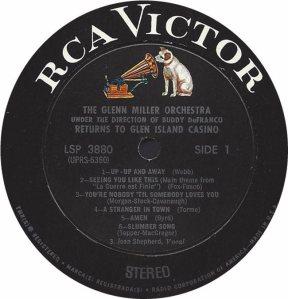 MILLER G LP 3880 1968 3