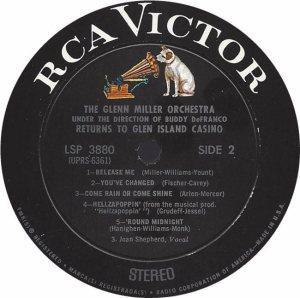MILLER G LP 3880 1968 4