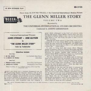 MILLER GLENN - DECCA EP 2125 - B