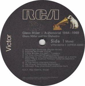 MILLER GLENN - MEMORIAL R1